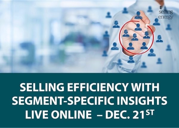 SELLING EFFICIENCY WITH SEGMENT-SPECIFIC INSIGHTS - EVENT RECORDING