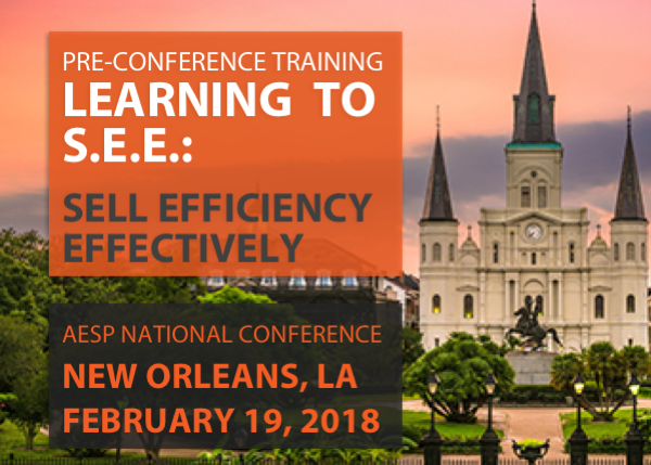 Learning to S.E.E.: Sell Efficiency Effectively - 2/19/2018 - New Orleans, LA